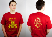 HOUSE BOOKSLAYER SHIRT (MENS)