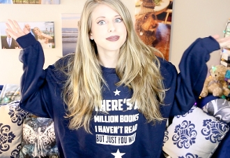 MILLION BOOKS SWEATSHIRT